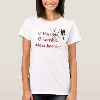 Camiseta O horrível