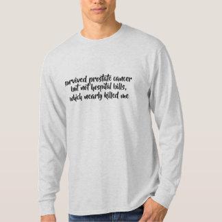 Camiseta o hospital sobrevivido do cancer não fatura a