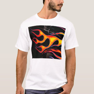 Camiseta O hot rod arde o t-shirt