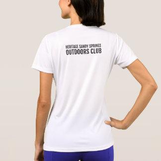 Camiseta O HSS fora bate - mantenha a calma e caminhe em