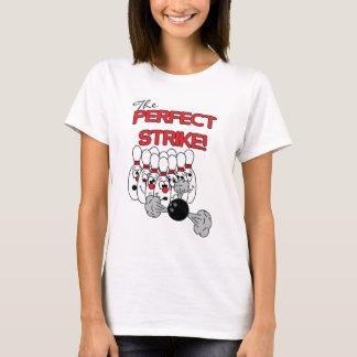 Camiseta O humor de rolamento perfeito da greve |