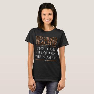 Camiseta ó Ídolo do professor da categoria a rainha o