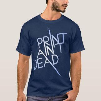 Camiseta O impressão não está inoperante