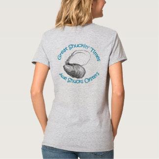 Camiseta O incrédulo Shucks ostras