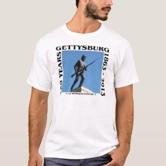 Camiseta ø Infantaria de Minnesota - 150th Gettysburg