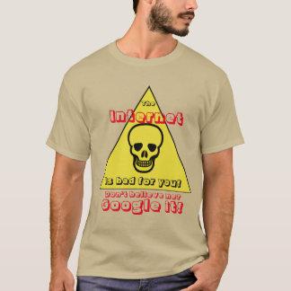 Camiseta O Internet é mau