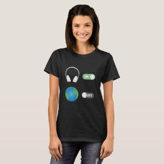 Camiseta O interruptor da música