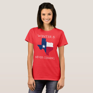 Camiseta O inverno nunca está vindo - Texas