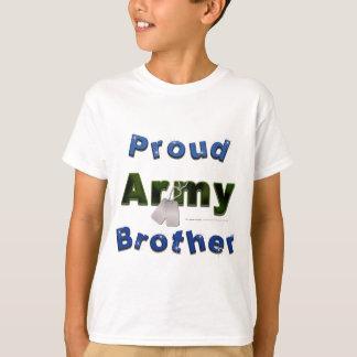 Camiseta O irmão orgulhoso do exército caçoa o T