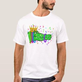 Camiseta O jacaré perla o carnaval