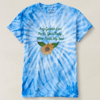 Camiseta O jardim alimenta minha alma