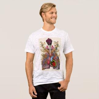 Camiseta O jardim anatômico
