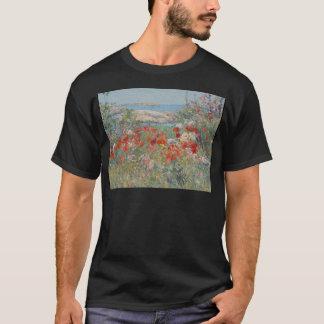 Camiseta O jardim de Celia Thaxter, ilhas dos bancos de