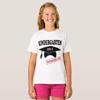 Camiseta O jardim de infância personalizado pregou-o