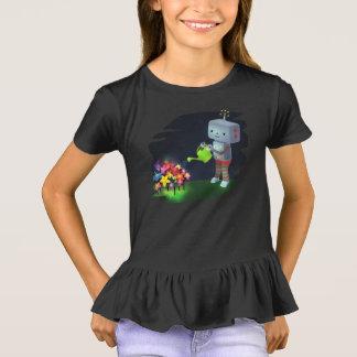 Camiseta O jardim do robô