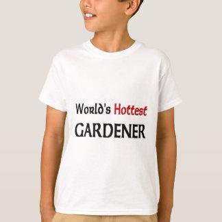 Camiseta O jardineiro o mais quente dos mundos