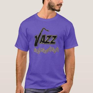 Camiseta O jazz do ~ do amante de música jazz nota o