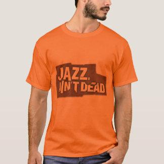 Camiseta O JAZZ NÃO É t-shirt unisex do logotipo INOPERANTE
