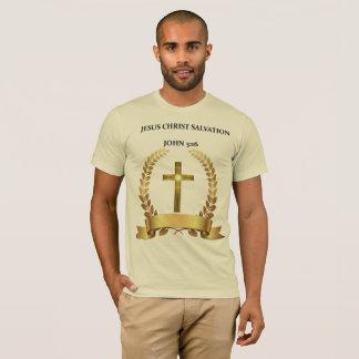 Camiseta O JESUS CRISTO É 3:16 de John do SALVAÇÃO
