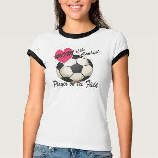 Camiseta O jogador o mais fresco da mamã do futebol