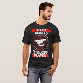 Camiseta O jogador proeminente do deslizamento de cair