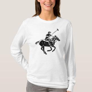 Camiseta O jogo da t-camisa do polo, do pônei e do jogador