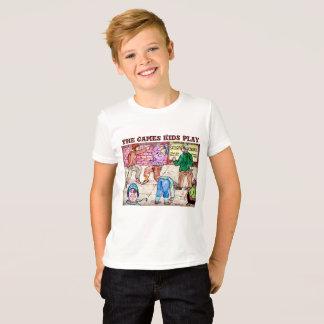 Camiseta O jogo dos miúdos dos jogos