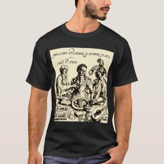 Camiseta O jogo infernal Salão de Ellesh & o penhor