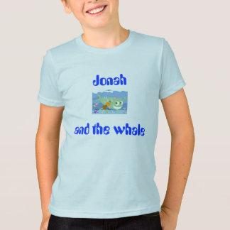 Camiseta o Jonah das crianças e o T da baleia