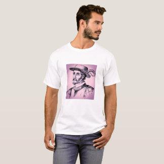 Camiseta O Juan roxo