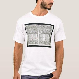 """Camiseta O """"Kelmscott Chaucer"""", publicado 1896 pelo Kel"""