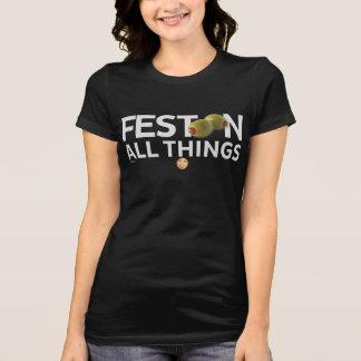 Camiseta O kitsch Bitsch™: Festoon todas as coisas