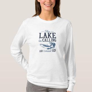 Camiseta O lago está chamando