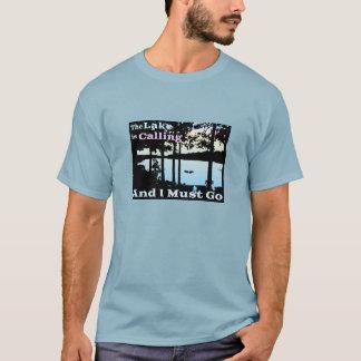 Camiseta O lago está chamando e eu devo ir (crepúsculo)