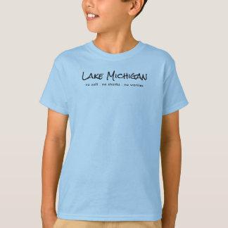 Camiseta O Lago Michigan - humor
