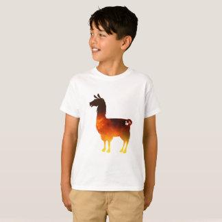 Camiseta O lama do fogo caçoa o t-shirt