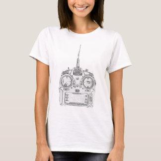 Camiseta O lápis friccionou o rádio de Spektrum RC