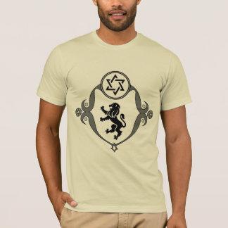 Camiseta O leão da T-Camisa de Judah