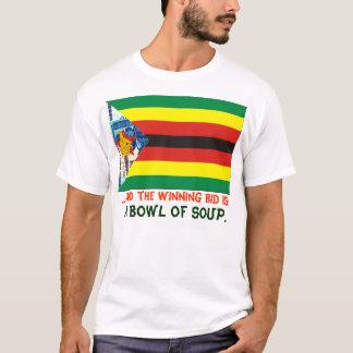 Camiseta O leilão de Zimbabwe
