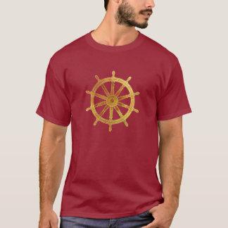 Camiseta O leme do navio