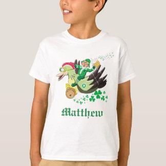 Camiseta O Leprechaun de St Patrick engraçado personalizado
