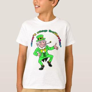 Camiseta O Leprechaun do dia de St Patrick não para de