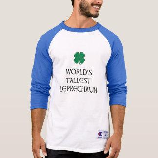 Camiseta O Leprechaun o mais alto