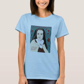 Camiseta O lilac pequeno do T da boneca das senhoras da