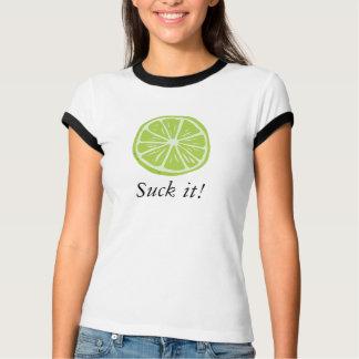 Camiseta O limão de Cinco de Mayo suga-o!