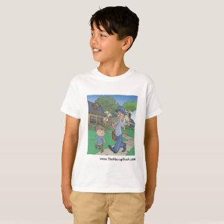 Camiseta O livro do soluço - t-shirt tagless dos miúdos -