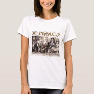 Camiseta O logotipo da X-Pirataria eyes o jpg.