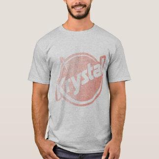 Camiseta O logotipo de Krystal desvaneceu-se