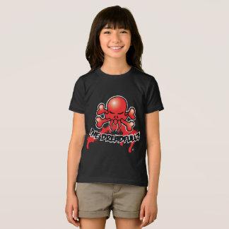 Camiseta O logotipo do grupo de rock de Dreadfullz