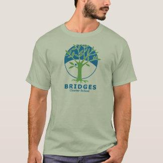 Camiseta O logotipo dos homens - várias cores